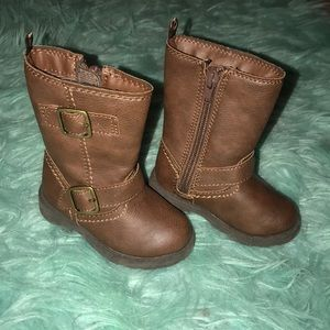 Carter's   Size 4   Gently used   brown boots